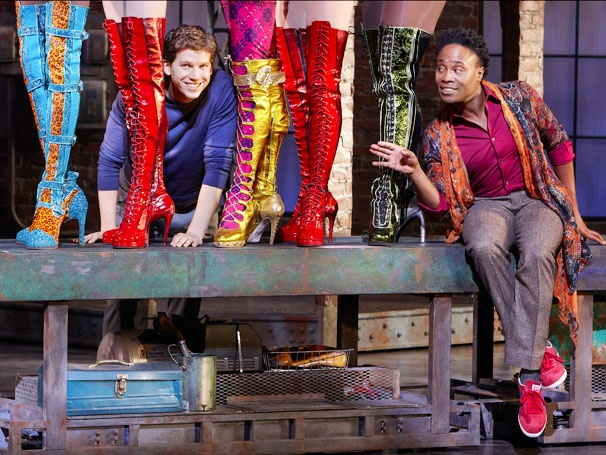 Show Photos - Kinky Boots - Stark Sands - Billy Porter