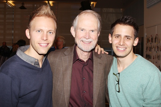 'A Christmas Story' Meet and Greet — Justin Paul — Joseph Robinette — Benj Pasek