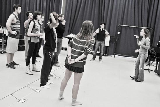 Bare – Rehearsal – cast – Lynne Shankel