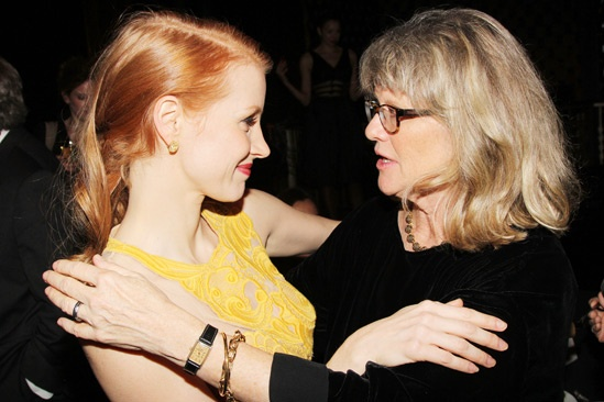 The Heiress  Opening Night  Jessica Chastain  Judith Ivey