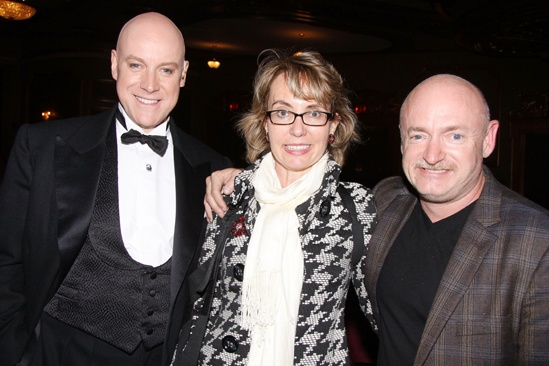 Annie-  Anthony Warlow- Gabrielle Giffords- Mark Kelly