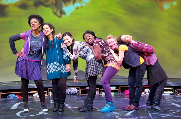 Show Photos - Emotional Creature Ashley Bryant, Sade Namei, Olivia Oguma, Joaquina Kalukango, Emily Grosland and Molly Carden