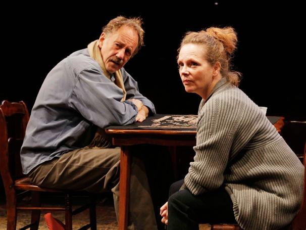 Show Photos- Sorry- Jon DeVries as Benjamin Apple and Maryann Plunkett as Barbara Apple