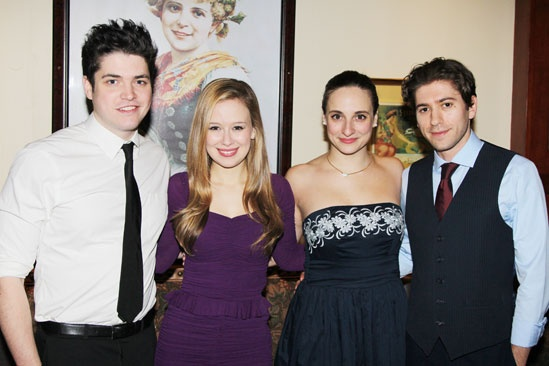 'Bad Jews' Opening Night — Philip Ettinger — Molly Ranson — Tracee Chimo — Michael Zegen