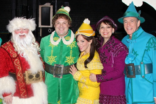 Elf – Curtain Call – Nov 9 – Wayne Knight – Jordan Gelber – Leslie Kritzer – Beth Leavel – Marc Jacoby