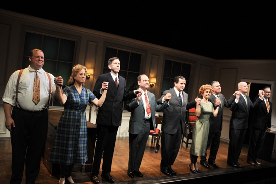 Checkers opening night – cast (curtain call)