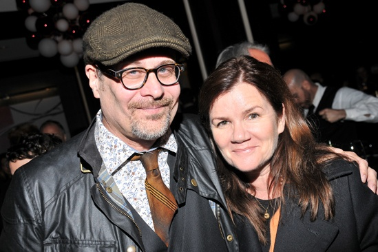 Checkers opening night  Terry Kinney  Mare Winningham
