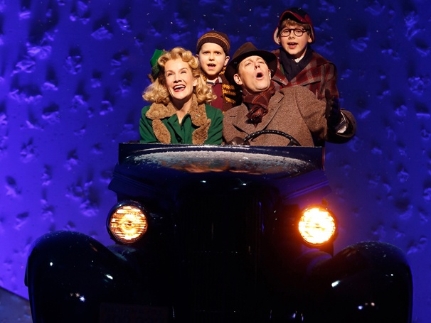 Show Photos - A Christmas Story - Erin Dilly, Zac Ballard, John Bolton and Johnny Rabe
