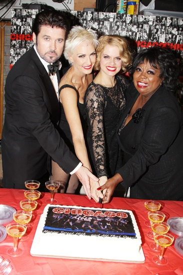 Chicago – 16th anniversary – Billy Ray Cyrus – Amra-Faye Wright – Amy Spanger – Carol Woods