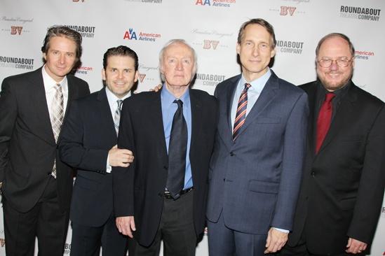 'Mystery of Edwin Drood' Opening Night — Peter Benson — Robert Creighton — Jim Norton — Gregg Edelman — Rupert Holmes