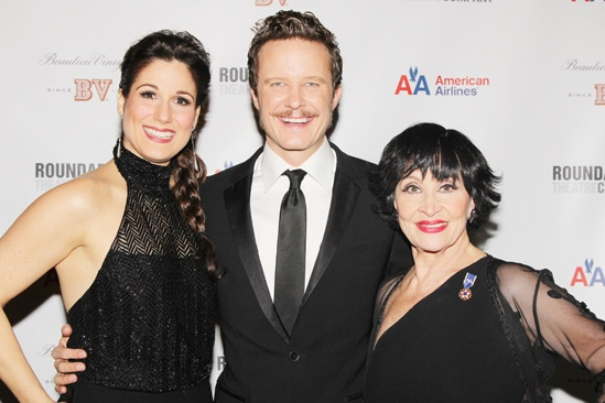 'Mystery of Edwin Drood' Opening Night — Stephanie J. Block — Will Chase — Chita Rivera