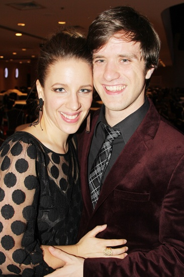 Mystery of Edwin Drood Opening Night  Jessie Mueller  Andy Truschinski