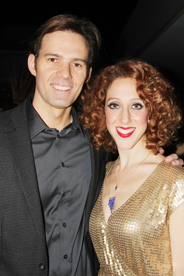 'Mystery of Edwin Drood' Opening Night — Michael Halling — Alison Cimmet