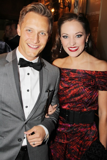 'Mystery of Edwin Drood' Opening Night — Nathan Johnson — Laura Osnes