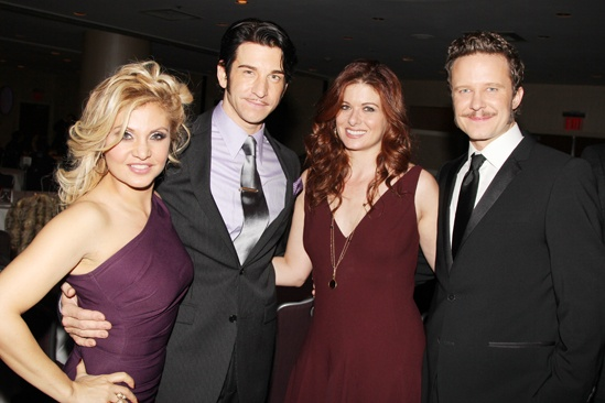 'Mystery of Edwin Drood' Opening Night — Orfeh — Andy Karl — Debra Messing — Will Chase