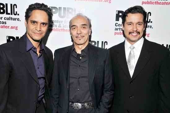 'Giant' Opening Night — Martin Sola — Raul Aranas — Enrique Acevedo