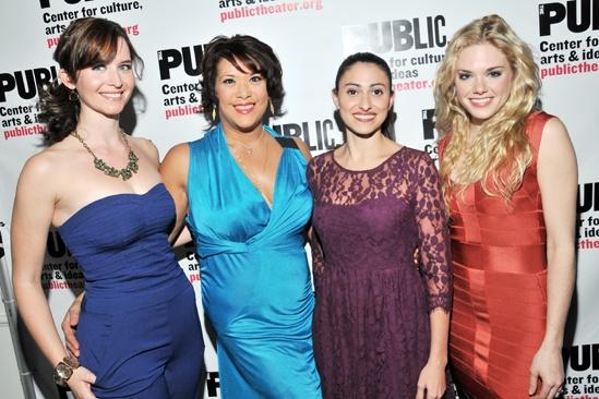 'Giant' Opening Night — Allison Rogers — Doreen Montalvo — Natalie Cortez — Mackenzie Mauzy