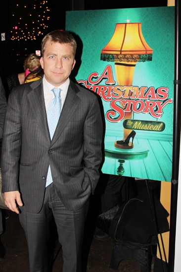 A Christmas Story Opening Night  Peter Billingsley