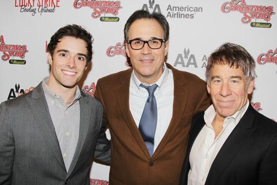 'A Christmas Story' Opening Night — Corey Cott — John Bucchino — Stephen Schwartz