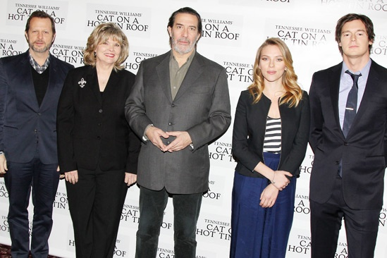 Cat on a Hot Tin Roof – Meet the Press – Rob Ashford – Debra Monk – Ciaran Hinds – Scarlett Johnasson – Benjamin Walker