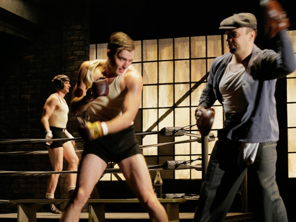 Show Photos - Golden Boy - Seth Numrich - Danny Burstein