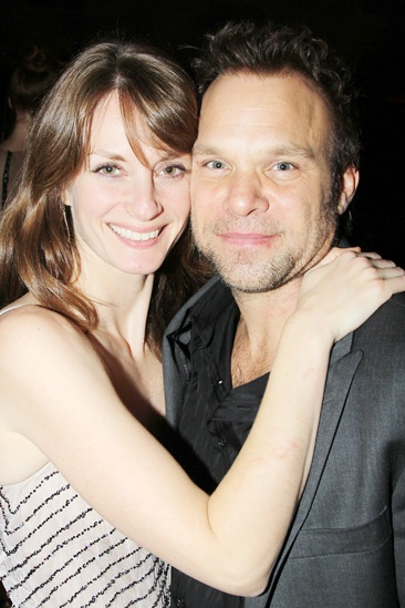 'Dead Accounts' Opening Night — Michelle Federer — Norbert Leo Butz