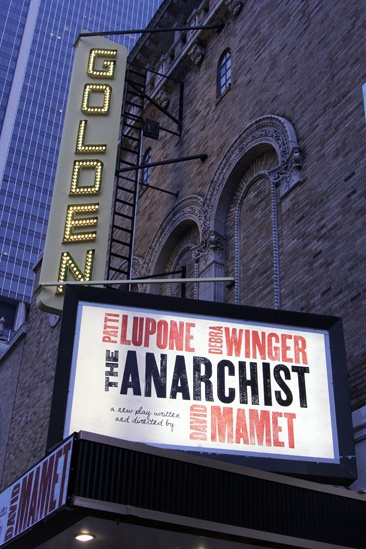 The Anarchist- The Golden Theatre