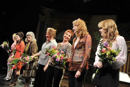 Steel Magnolias benefit reading – curtain call