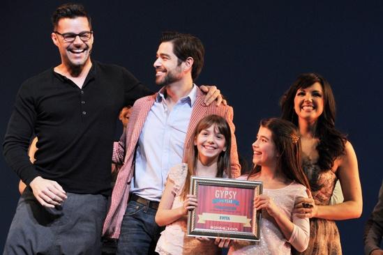2012 Gypsy of the Year – Ricky Martin – Daniel Torres - Ava DeMary– Mavis Simpson-Ernst - Rachel Potter