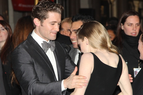 Les Miserables London premiere – Matthew Morrison – Amanda Seyfried