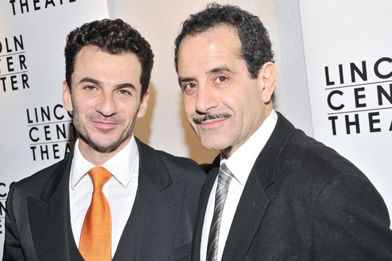 Golden Boy  opening night  Michael Aronov  Tony Shalhoub