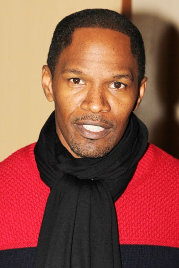 Jamie Foxx at &#39;Spider-Man&#39; - Jamie Foxx