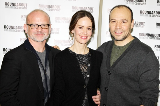 'Talley's Folly' Meet and Greet — Michael Wilson — Sarah Paulson — Danny Burstein