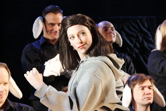 Silence! The Musical – Pamela Bob- Cast