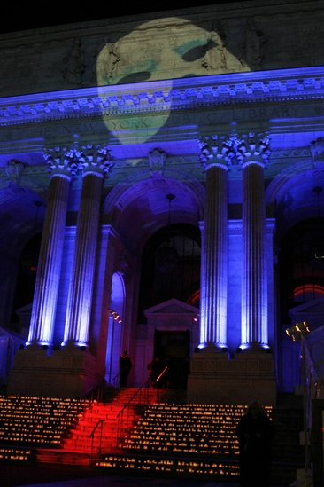 Phantom  25th Anniversary  NYPL