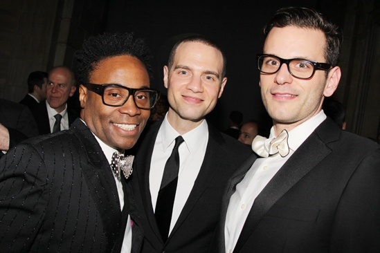 Phantom  25th Anniversary  Billy Porter  Jordan Roth  Wayne Alan Wilcox