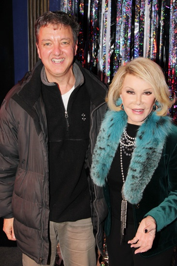 Joan Rivers at 'Forbidden Broadway' — John Freedson — Joan Rivers