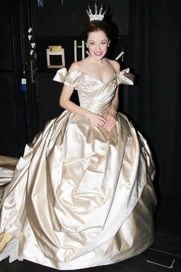 Katie Holmes at Cinderella - Laura Osnes