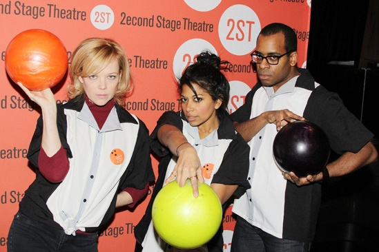 Second Stage Bowling 2013  - Emily Bergl – Rebecca Naomi Jones – Daniel Breaker
