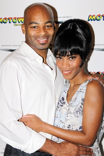 'Motown' Meet and Greet — Brandon Victor Dixon — Valisia LeKae