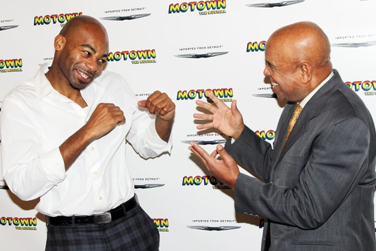 Motown Meet and Greet  Brandon Victor Dixon  Berry Gordy