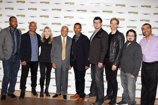 'Motown' Meet and Greet — ESosa — Warren Adams — Patricia Wilcox — Berry Gordy — Charles Randolph-Wright — Ethan Popp — David Korins — Daniel Brodie — Joseph Joubert
