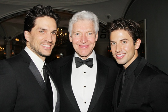 Drama League Gala for Audra 2013 – Will Swenson – Tony Sheldon – Nick Adams