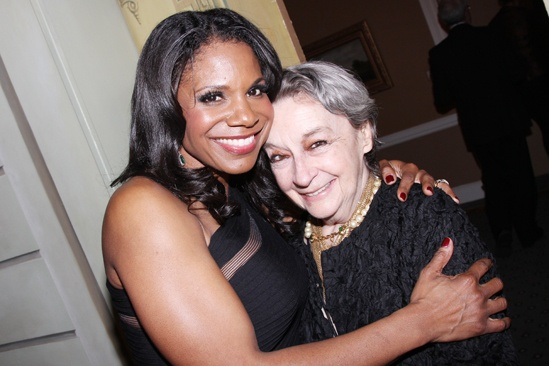 Drama League Gala for Audra 2013  Audra McDonald  Zoe Caldwell