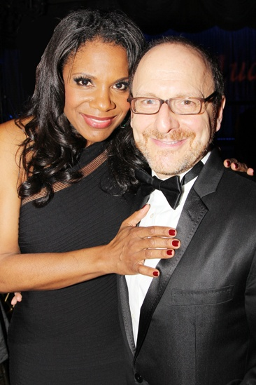 Drama League Gala for Audra 2013  Audra McDonald  Lonny Price