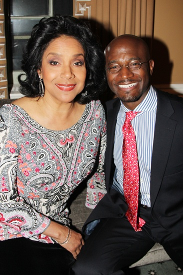 Drama League Gala for Audra 2013  Phylicia Rashad  Taye Diggs