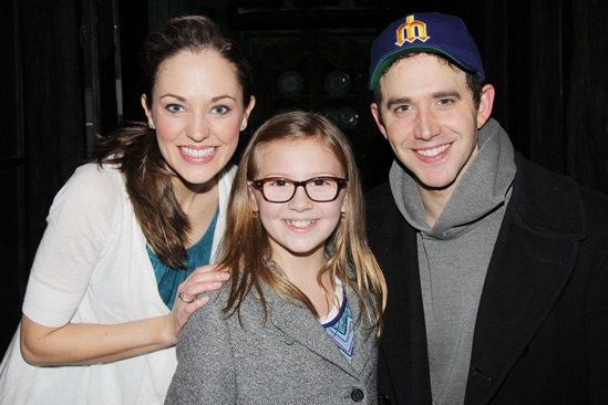 Bebe Wood at Cinderella – Bebe Wood – Laura Osnes – Santino Fontana