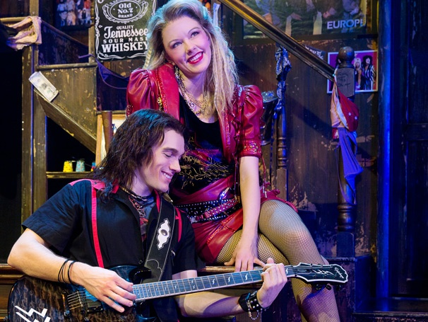 Show Photos - Rock of Ages - Kate Rockwell - Justin Matthew Sargent