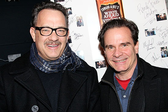 Who's Afraid of Virginia Woolf? – Tom Hanks and Peter Scolari Visit – Tom Hanks – Peter Scolari