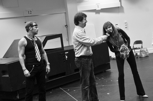 Hands on a Hardbody – Rehearsal – Jim Newman – Scott Wakefield – Connie Ray
